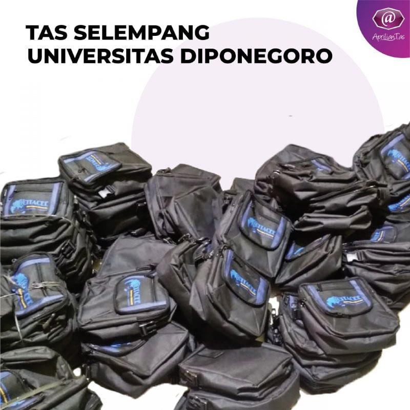 Tas Selempang Universitas Di Ponogoro -Arfan Acara ICETACEE - tas promosi dan seminar medan