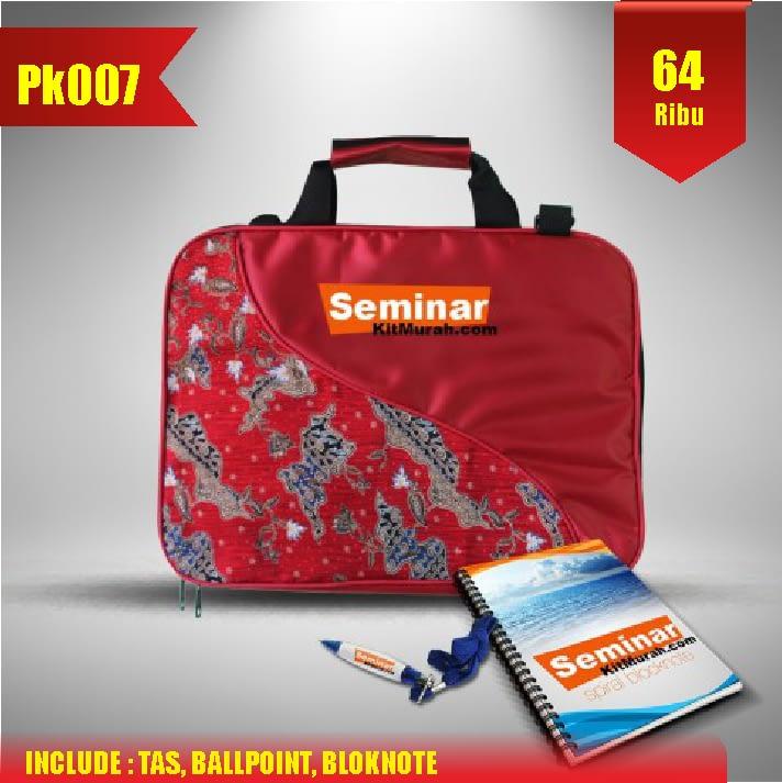 Aprilian Tas pesan paket seminar kit murah jogja pk007