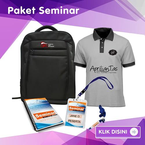 Kategori Paket tas seminar Seminar kit 1 Aprilian Tas